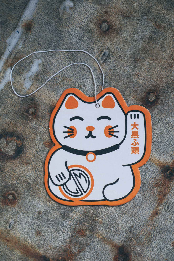 Air Freshener. Daikoku Lucky Cat