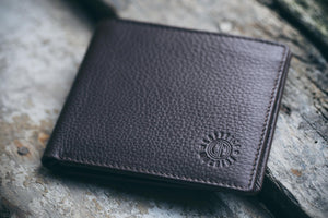 Wallet. Brown Leather.