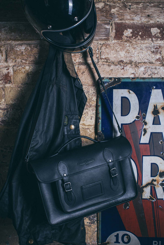 Large Satchel- Black