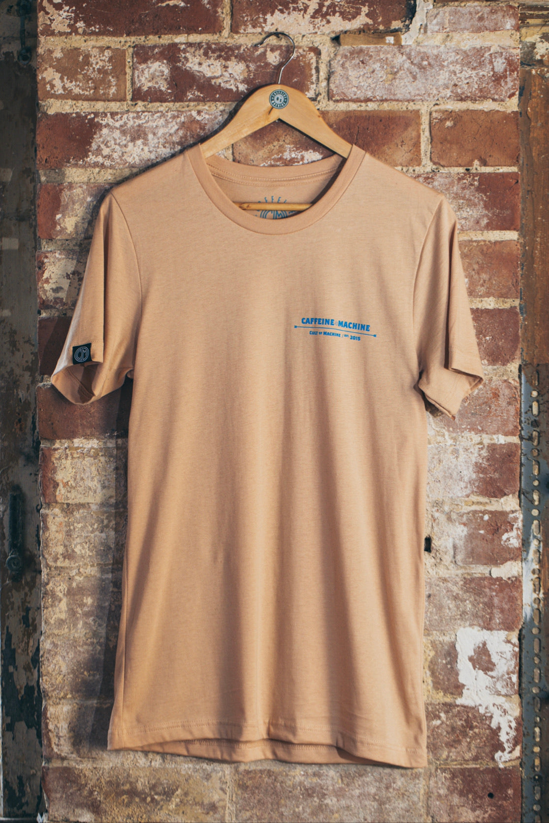 Address Tee. Nude