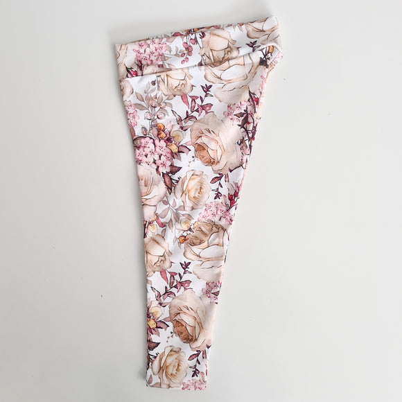 Leggings - Champagne Roses