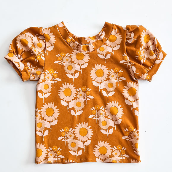 Retro Tee - Sunflower