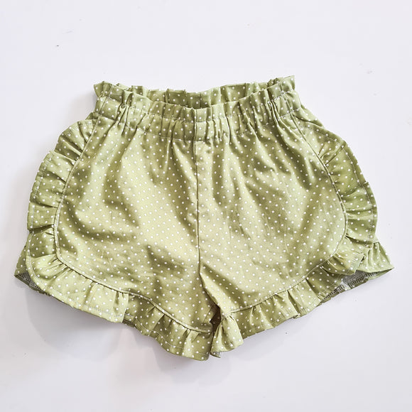 Flutter shorts - Olive dot