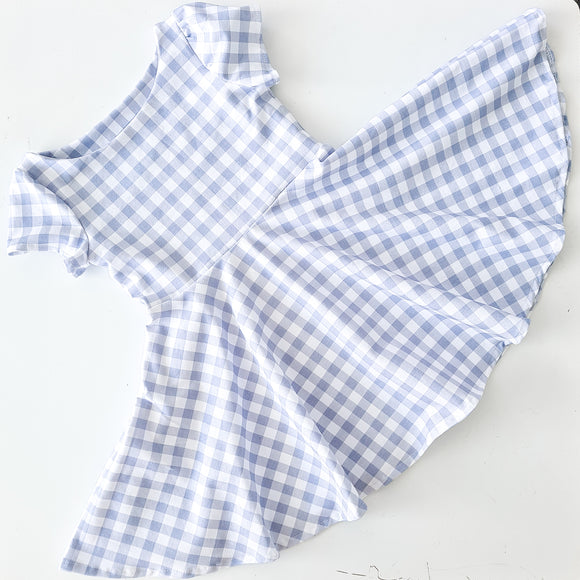 Wattle dress - gingham