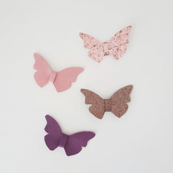 Butterfly bow clips