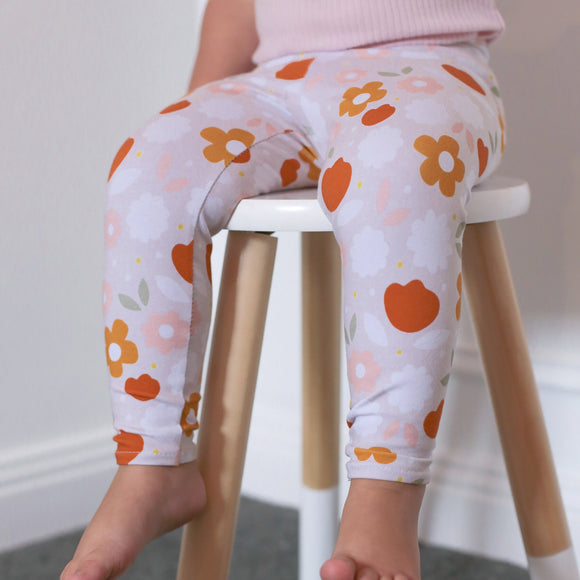 Leggings - Retro floral