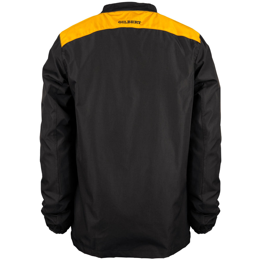 2600 RCBQ18 81501805 Jacket Photon Warm Up Black & Gold, Back