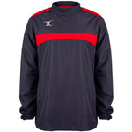 2600 RCBQ18 81506005 Jacket Photon Warm Up Dark Navy & Red Front