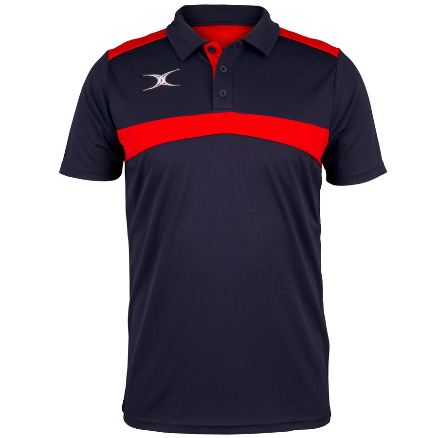 2600 RCFI18 81508805 Polo Photon Dark Navy & Red Front