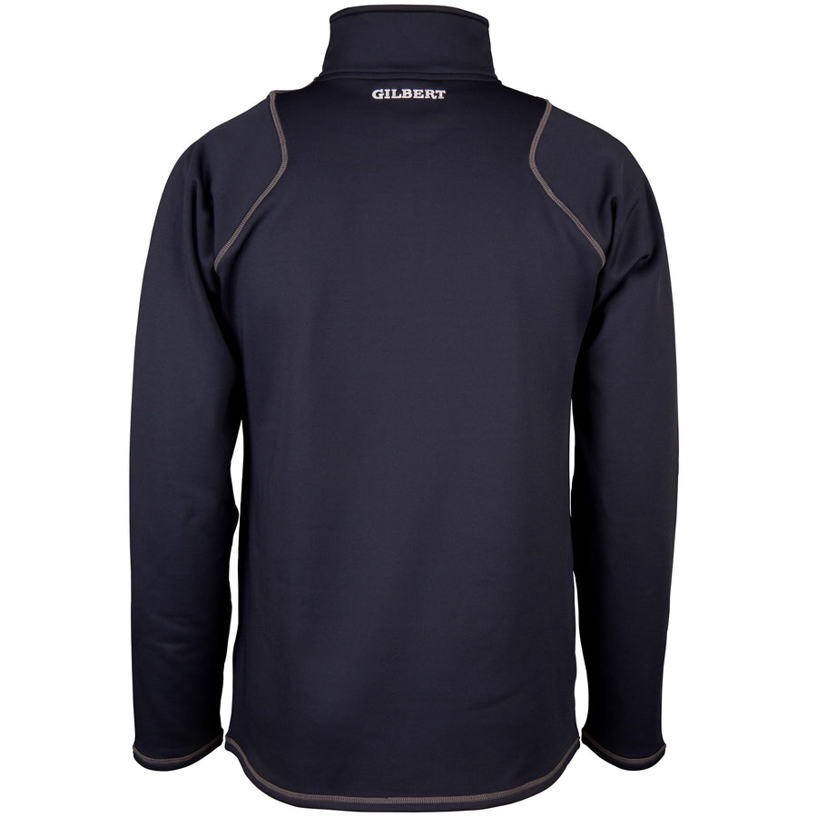 2600 RCGG18 81513505 Top Quest 2 Quarter Zip Fleece Dark Navy, Back