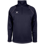 2600 RCGG18 81513505 Top Quest 2 Quarter Zip Fleece Dark Navy Front