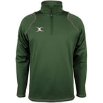 2600 RCGG18 81513705 Top Quest 2 Quarter Zip Fleece Green Front