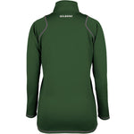 2600 RCGH18 81514105 Top Quest 2 Quarter Zip Fleece Ladies Green, Back