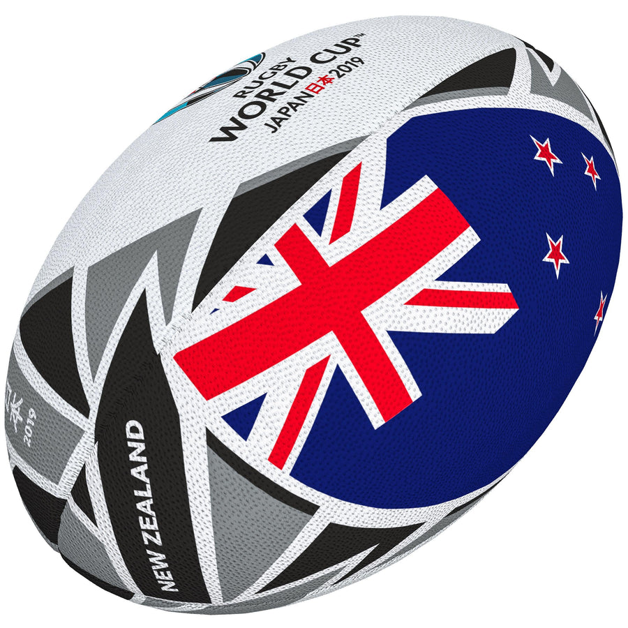 2600 RRBJ18 48419705 Ball Rwc2019 Flag New Zealand Sz5