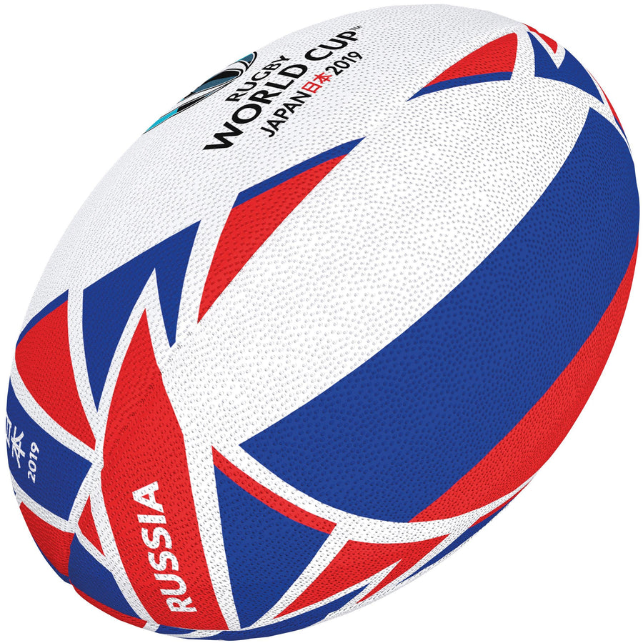 2600 RRBR18 48423405 Ball RWC 2019 Flag Russia Size 5