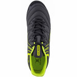 2600 RSIA19 87385026 Boot Sidestep X9 Lo 8 Stud Black & Neon Yellow, Top