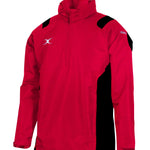 RCBG14Jackets Revolution Half Zip Red Black
