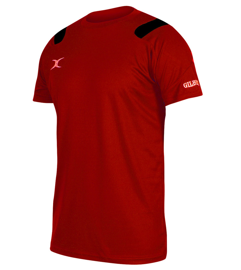 RCFB13LeisureWear Vapour Tee Shirt Red Black