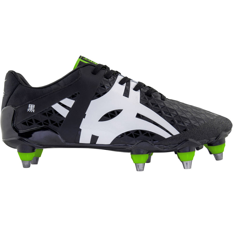 RSAB18Boot Kuro Pro 8 Stud Black, Outstep