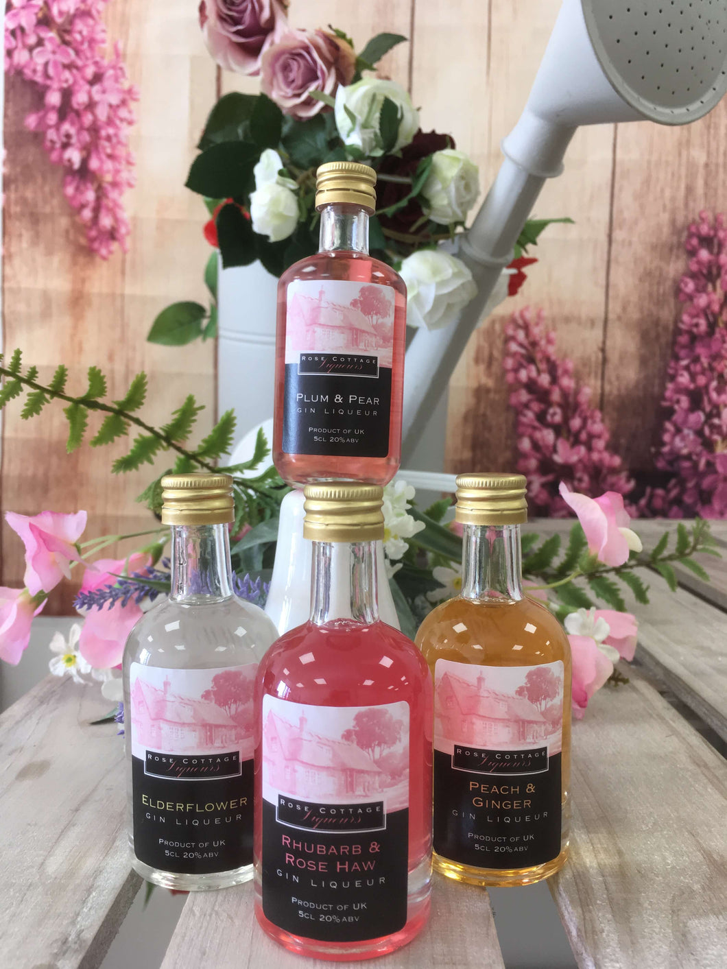 Miniature Set of Four Flavoured Gins