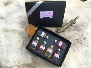 Xmas Gift Box set 6 x 5CL Xmassy liqueurs (Free full strength Butterfly Pea Flower colour changing gin added to your order)