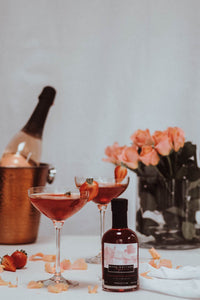 Small (20CL) Strawberries and Cream Gin Liqueur