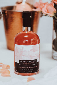 Large (50CL)  Rhubarb and Rose Haw Gin Liqueur