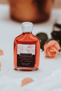 Miniature (5CL) Strawberries and Cream Gin Liqueur