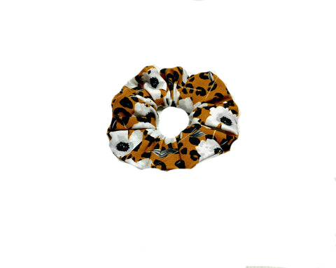 Scrunchie Fall Floral Animal print Hair Tie