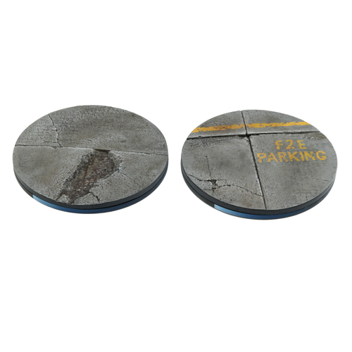 55mm Concrete Base Set