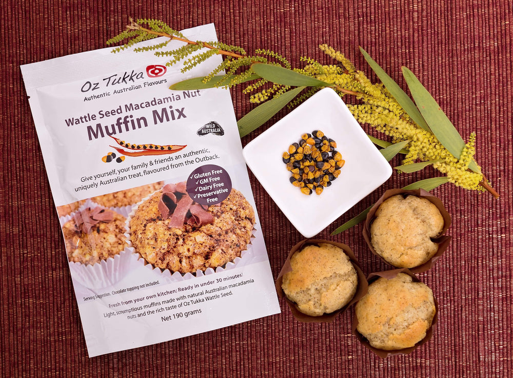 Wattle Seed Muffin Mix~Gluten Free.