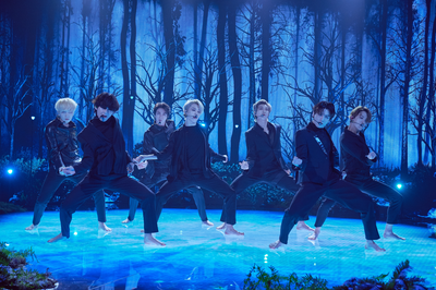 BTS perform 'Black Swan' for the first time