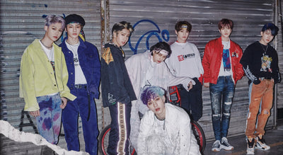 Stray Kids Serve up Fashion in God's Menu and Back Door