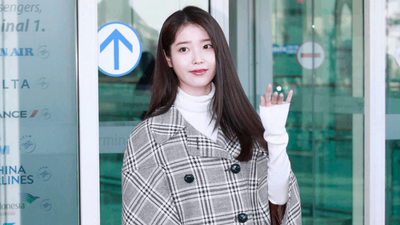 IU Fashion at Incheon Airport