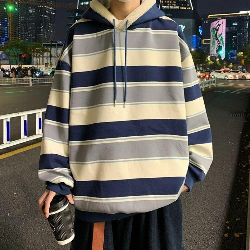 Color Striped Lightweight Hoodie - nightcity clothing