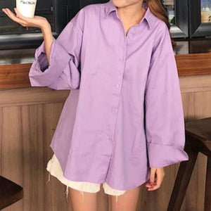 Loose Wide Sleeve Shirt - nightcity clothing