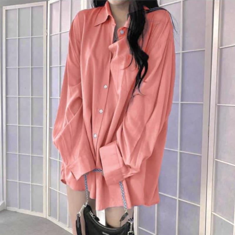 Oversized Blouse Shirt - nightcity clothing
