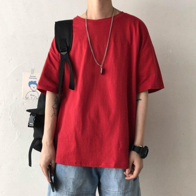 Oversized Colored Tee - nightcity clothing