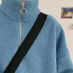 Oversized Fleece Pullover - nightcity clothing