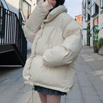 Oversized Puffer Jacket - nightcity clothing