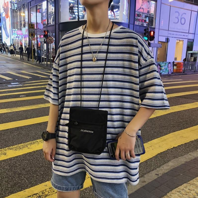 Oversized Striped Tee II - nightcity clothing