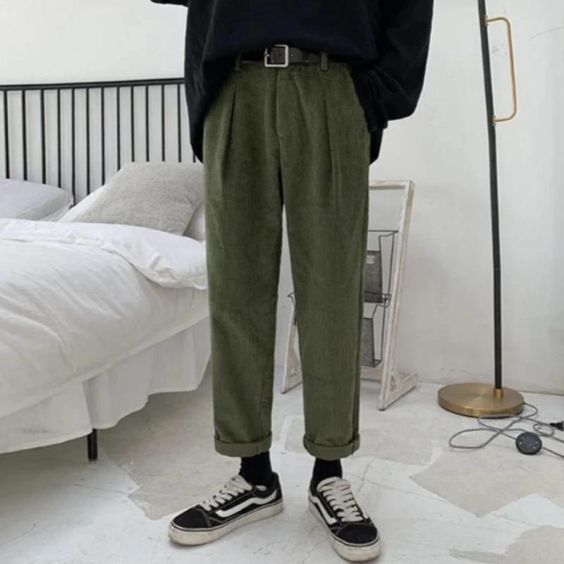 Slim Corduroy Pants - nightcity clothing
