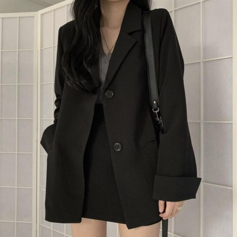 Slim Suit Blazer and Skirt Two Piece - nightcity clothing