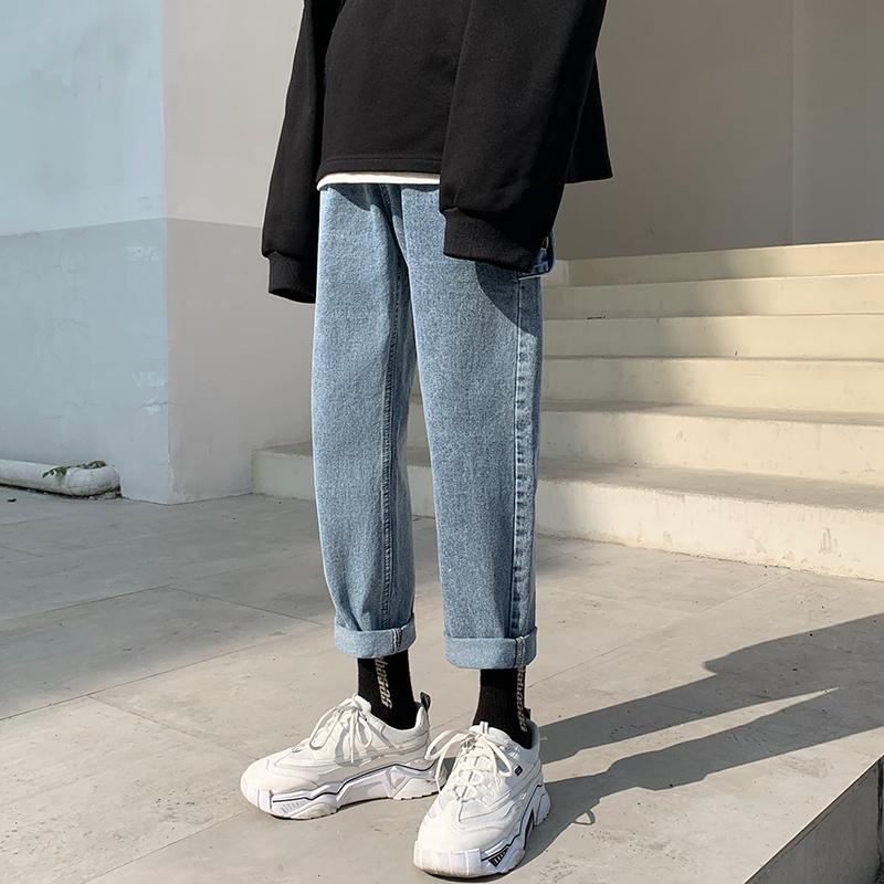 Tapered Strapped Jeans - nightcity clothing
