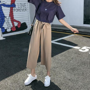 Wide Leg Culottes - nightcity clothing