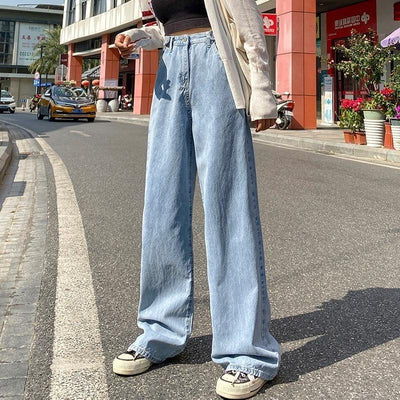 Wide Leg Straight Jeans II