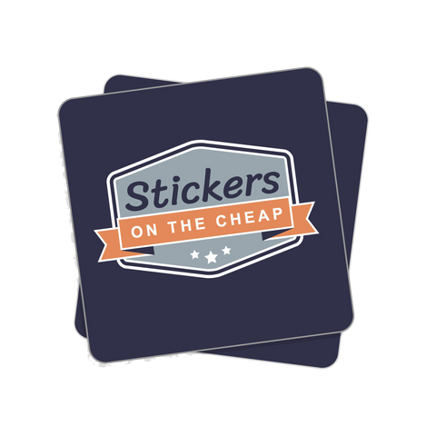Custom Rounded Corner Sticker