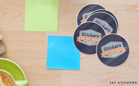 Custom Clear Sticker – Stickers on the Cheap