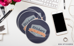 Custom Oval Stickers