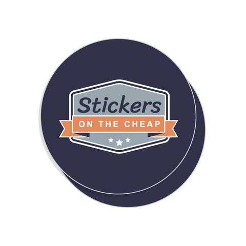 Custom Circle Sticker 2